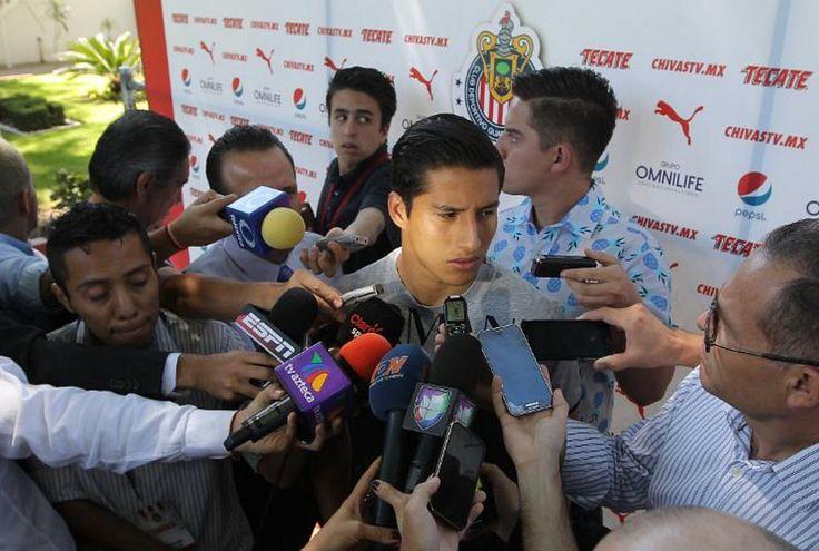 ESPERAMOS LLEGAR A LIGUILLA LO MÁS ARRIBA POSIBLE: CISNEROS Espera que Chivas consega una victoria para lograr subir en la tabla. El equipo necesita una combinación de resultados para lograr este cometido.