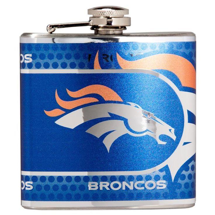 Denver Broncos Flask Stainless Steel Drink Bottle