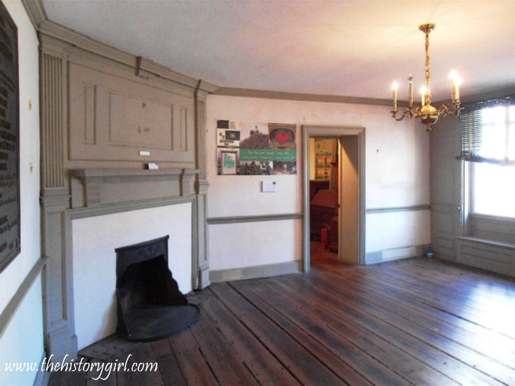 Interior Of The Alexander Grant Mansion House Parlor At The Salem County  Historical Society. The