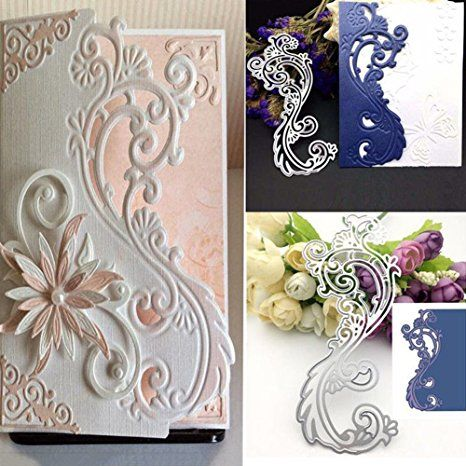 Useful Flower And Leaves Pattern Metal Steel Cutting Dies Diy Scrapbook Album Paper Card Crafts Stencil Scrapbooking Stamps Cards Beautiful In Colour Electronic Components & Supplies