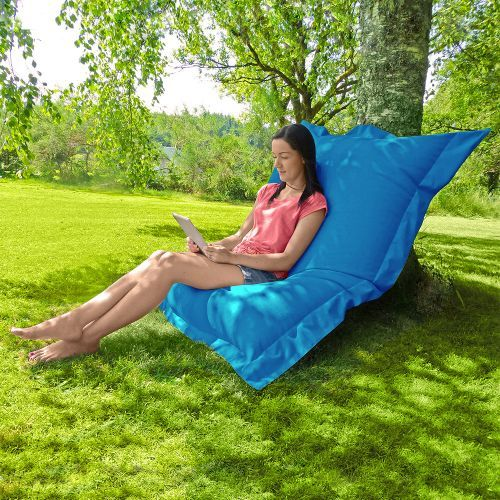 <p>FREE Delivery</p> <p>Variety of Seating Positions</p> <p>Use Indoors & Outdoors</p> <p>Whopping 170cm x 130cm</p> <p>Filling Included</p>