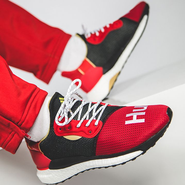 55405336bc81c The Pharrell Williams x adidas Solar HU Glide CNY is dropping on January  26th as part of adidas  chinese new year releases. 💻 Check the Link in our  BIO for ...