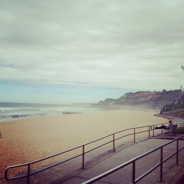 I want to go to a beach! This is Newcastle beach. it looks nice... But really any beach will do!!!
