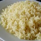 Classic Rice Pilaf (usually served with hummus & pitas/naan, tomato salad, and maybe greek salad)