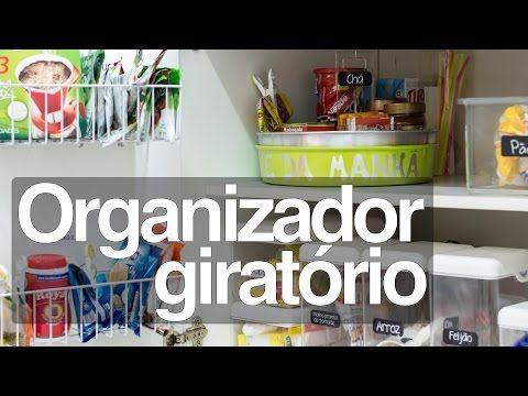 Organizador giratório - YouTube