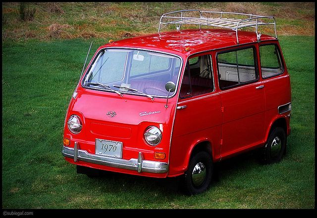 Stanley - A 1970 Subaru 360 Van (Sambar) | Flickr - Photo Sharing!