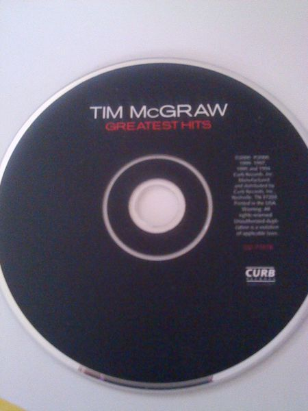 TIM MCGRAW GREATEST HITS
