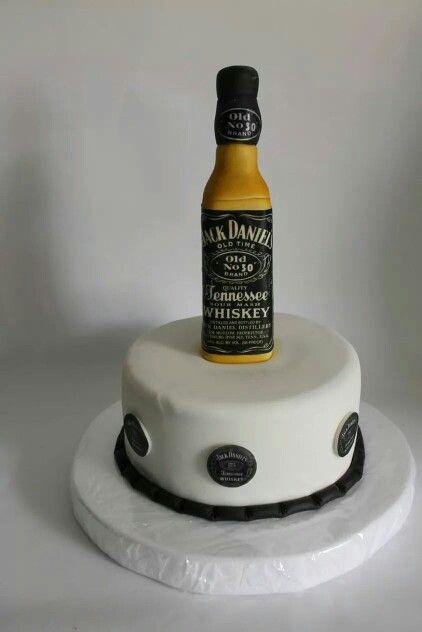 Torta Jack Daniel's 100 % Comestible.