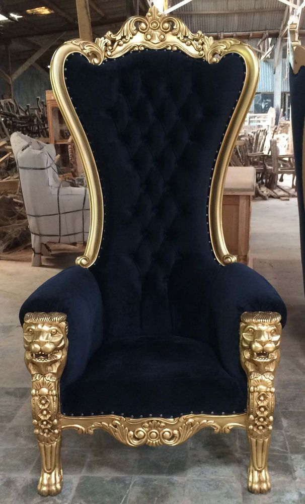 Awe Inspiring I Want Two Of These In 2019 Royal Furniture Throne Chair Inzonedesignstudio Interior Chair Design Inzonedesignstudiocom