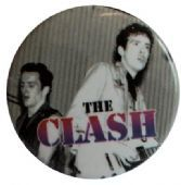 The Clash - 'On Stage' Button Badge