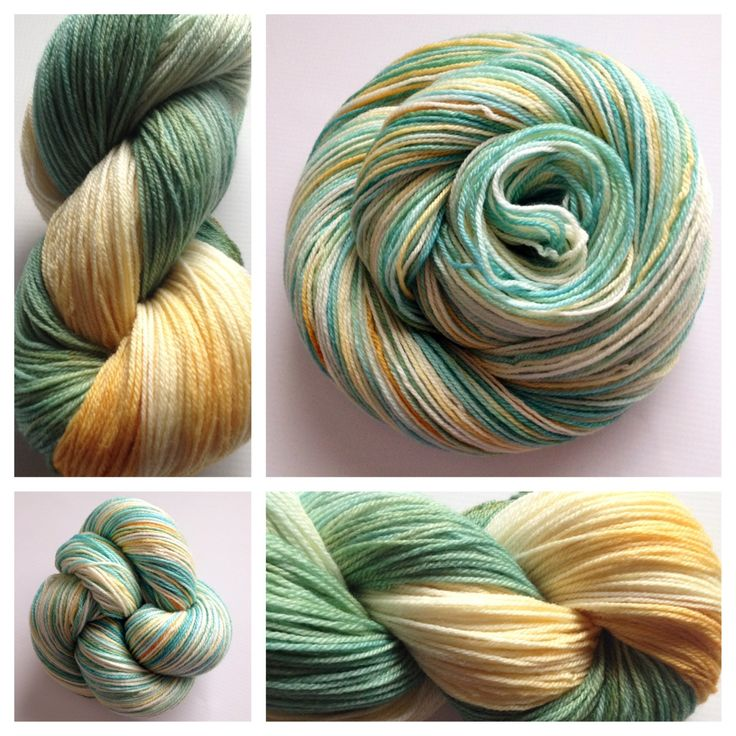 AUTUMN BICYCLE LITE ~ These sw merino/bamboo/nylon skeins are perfect for any item requiring a fingering/sock weight yarn. The superwash makes them machine washable, the bamboo adds a shine (and doesn't absorb the dye, thus the lighter shades) and the nylon gives it strength/durability.