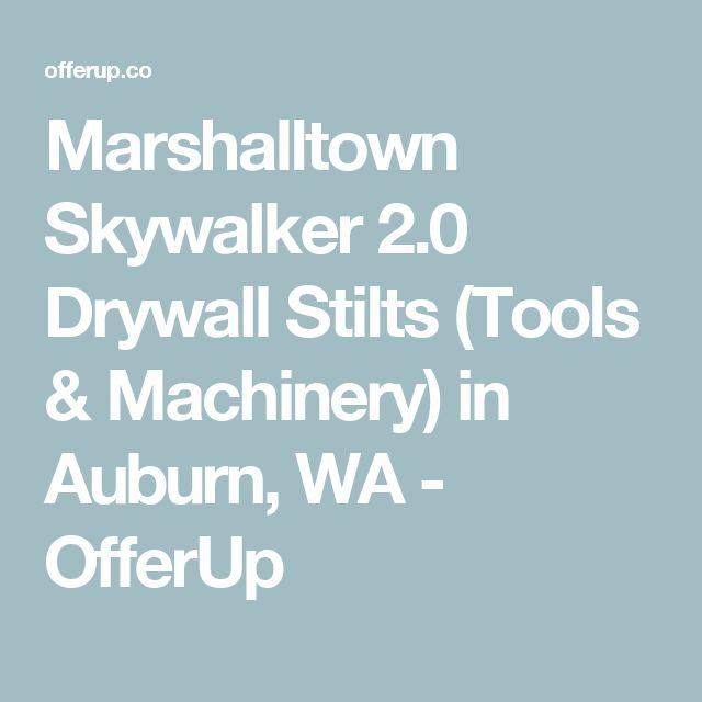 Marshalltown Skywalker 2.0 Drywall Stilts (Tools & Machinery) in Auburn, WA - OfferUp