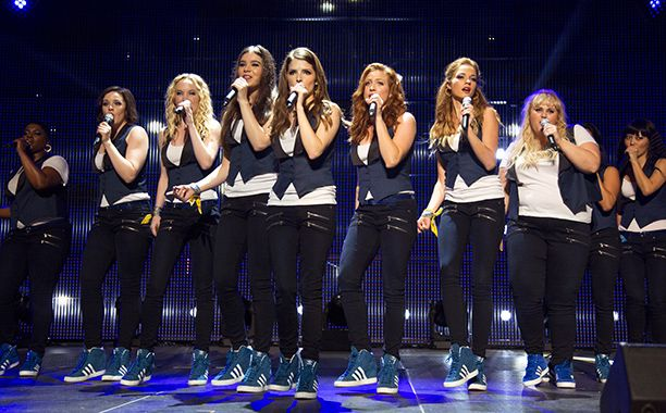 "Every single performance outfit worn by the Barden Bellas was custom-made to each girl's measurements. ""Everybody's sleeves were the perfect length and everybody's waist is the proper length,"" Pérez explains. ""Everything was made to look as flattering as possible. That's the benefit of custom making something as opposed to buying it off the rack."""