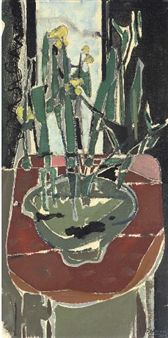 Still life with Jonquils By Patrick Heron ,1950