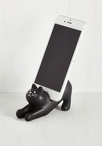 You've Gato a Call Phone Stand | Mod Retro Vintage Electronics | ModCloth.com: