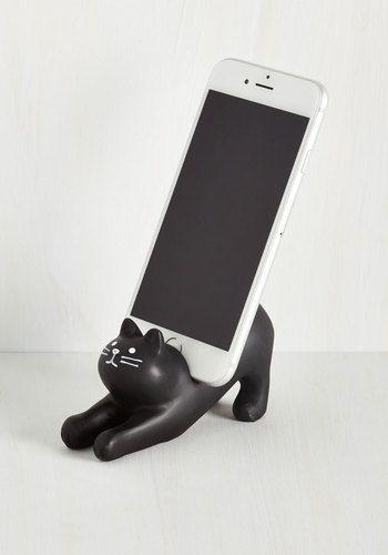 You've Gato a Call Phone Stand | Mod Retro Vintage Electronics | ModCloth.com: