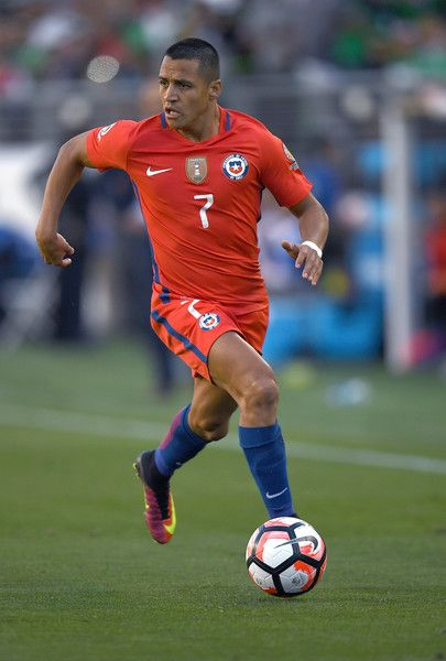 Alexis Sanchez. Chile NT. Copa America.