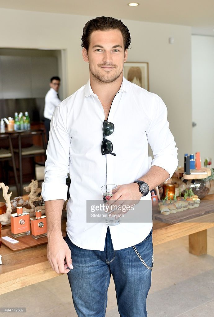 Actor Giacomo Gianniotti attends the Vince Camuto Mens exclusive preview at the home of Ashlee Margolis on October 28, 2015 in Beverly Hills, California.  (Photo by Stefanie Keenan/Getty Images for The A List)