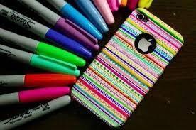 Sharpie phone case
