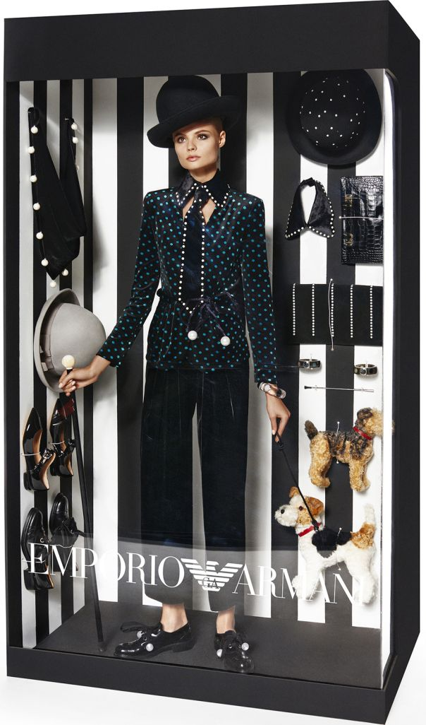 Elizabeth Erm, Magdalena Frackowiak by Giampaolo Sgura for Vogue Paris December-January 2014-2015 2