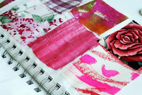 Color journal - oh my goodness, this is a wonderful wonderful idea!  Mmmmm......