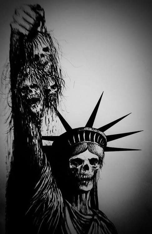 Give Me Liberty Or Give Me Death Sick Art Pinterest