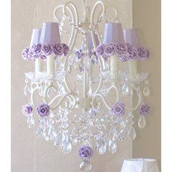 Rose Shade 5 Light Chandelier - Color: Lavender by Ababy, http://www.amazon.com/dp/B00AN3ROXA/ref=cm_sw_r_pi_dp_9rrbsb15BSHHQ