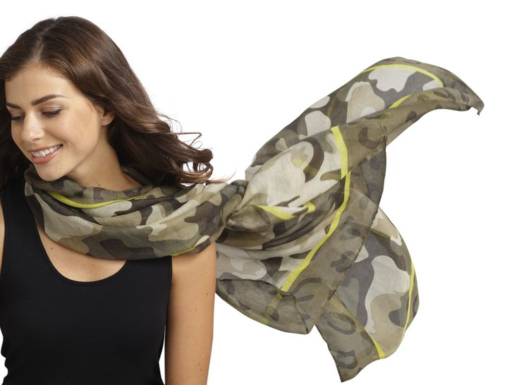 Camouflage chic!