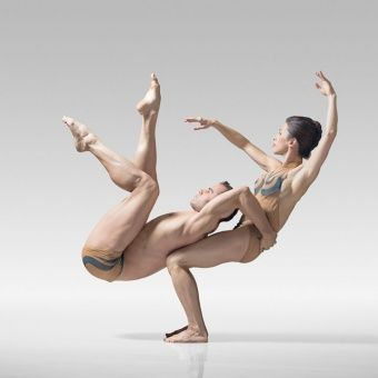 Modern dance. Look at those muscles.