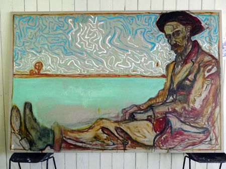 Billy Childish's painting