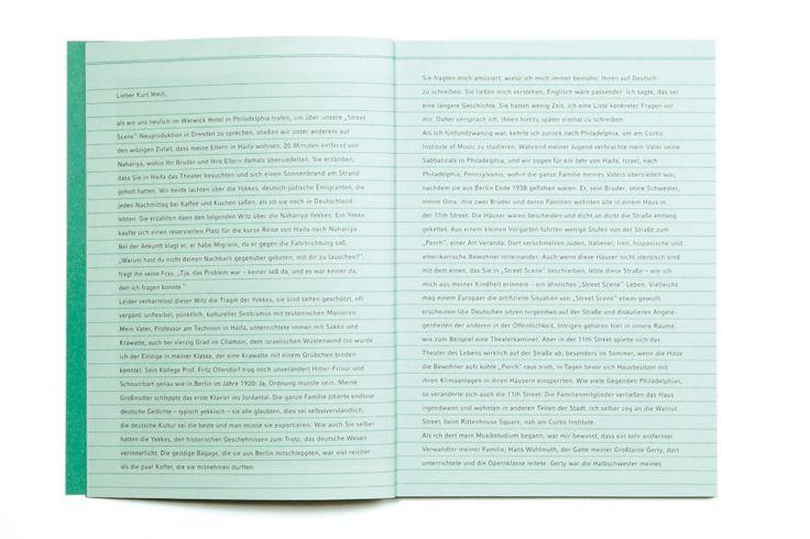 Fons Hickmann M23 - Semperoper Dresden - Program Booklets, Semperoper