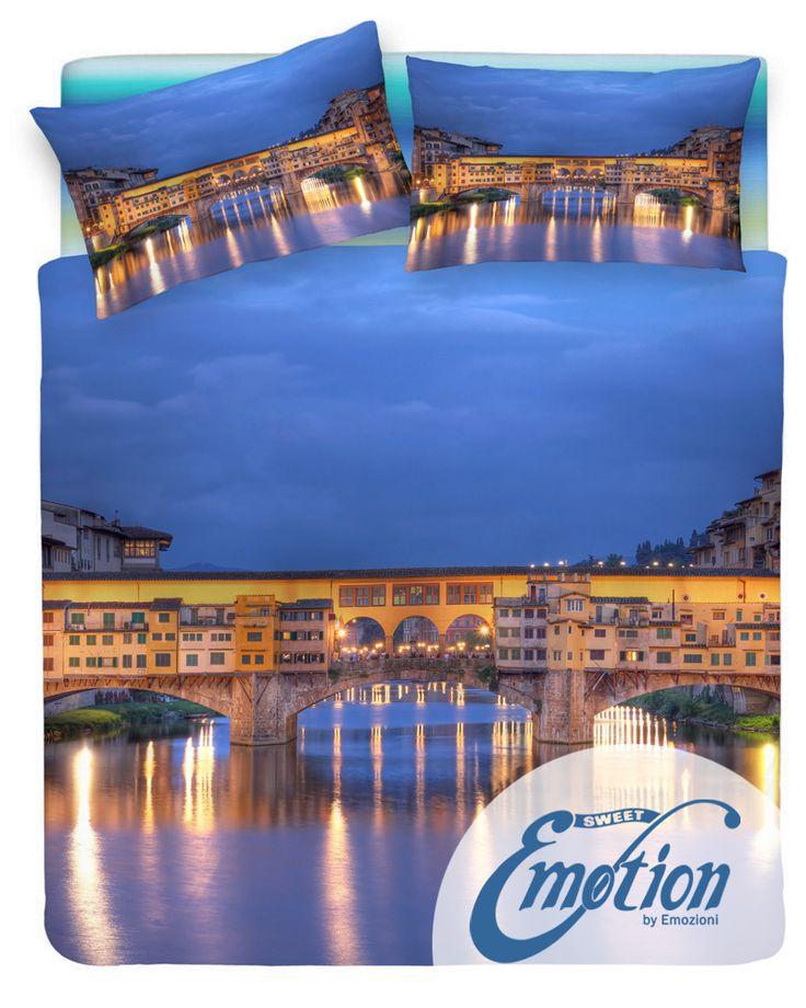 Digital Dream // Variante #Firenze #Florence  #lenzuola #coppiafedere #copripiumino #trapunta  www.sweet-emotion.it