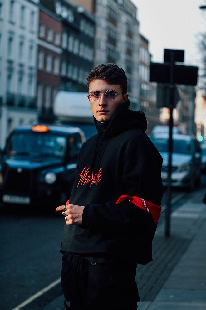 london fashion week mens, winter 2017, fall 2018, street style, look masculino, blogger, blog de moda masculina, alex cursino, youtuber, canal de moda, dicas de moda (6)
