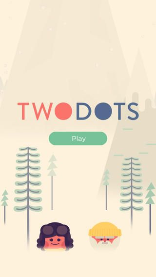 home on TwoDots ios app iphone game