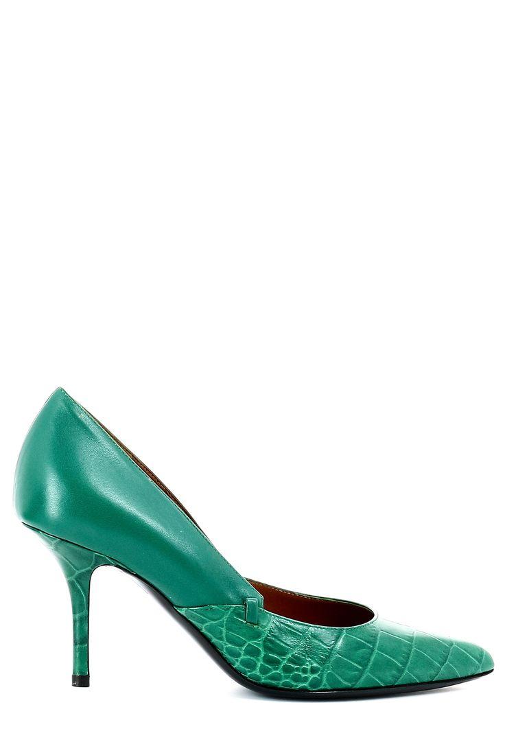 Зеленые туфли ALBERTA FERETTI  по цене  PodiumLuxe.ru