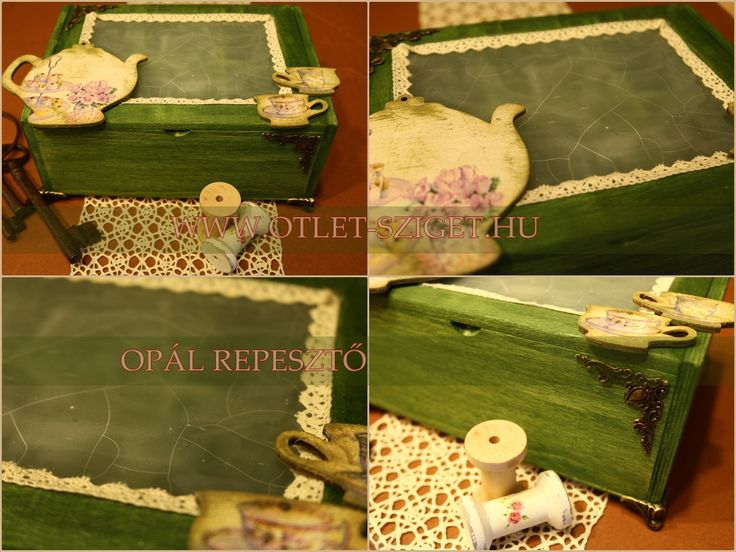 Opál repesztett teás doboz :)