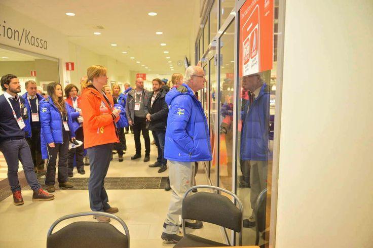 Royals & Fashion: Championnat du monde de ski nordique, Falun