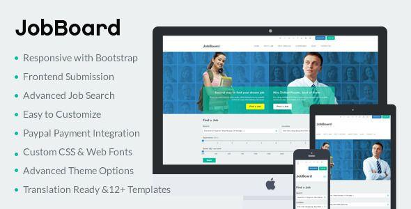 10 Responsive Job Board WordPress Themes