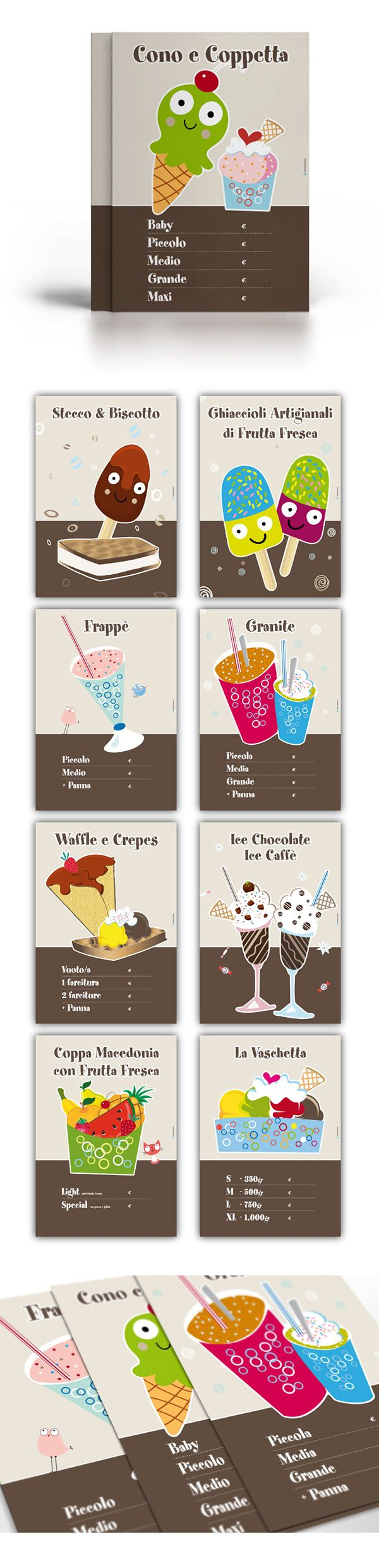 PETER PANNA / A FABLE OF ICE CREAM on Behance