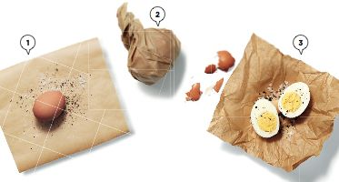 Genius Egg Hack! This is a great way to take an egg to work. #GoodFood #Healthy #LifeHacks