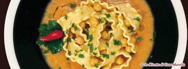 Pasta Marella Ricetta - REGINELLA CON I CECI