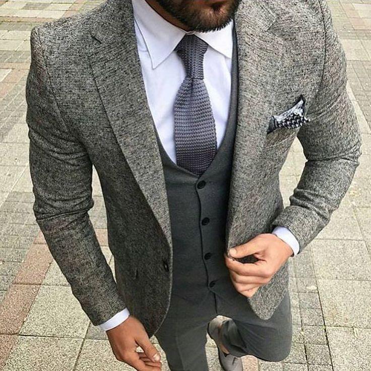 Classy # suit and tie  #londonfashion  #italiandesign