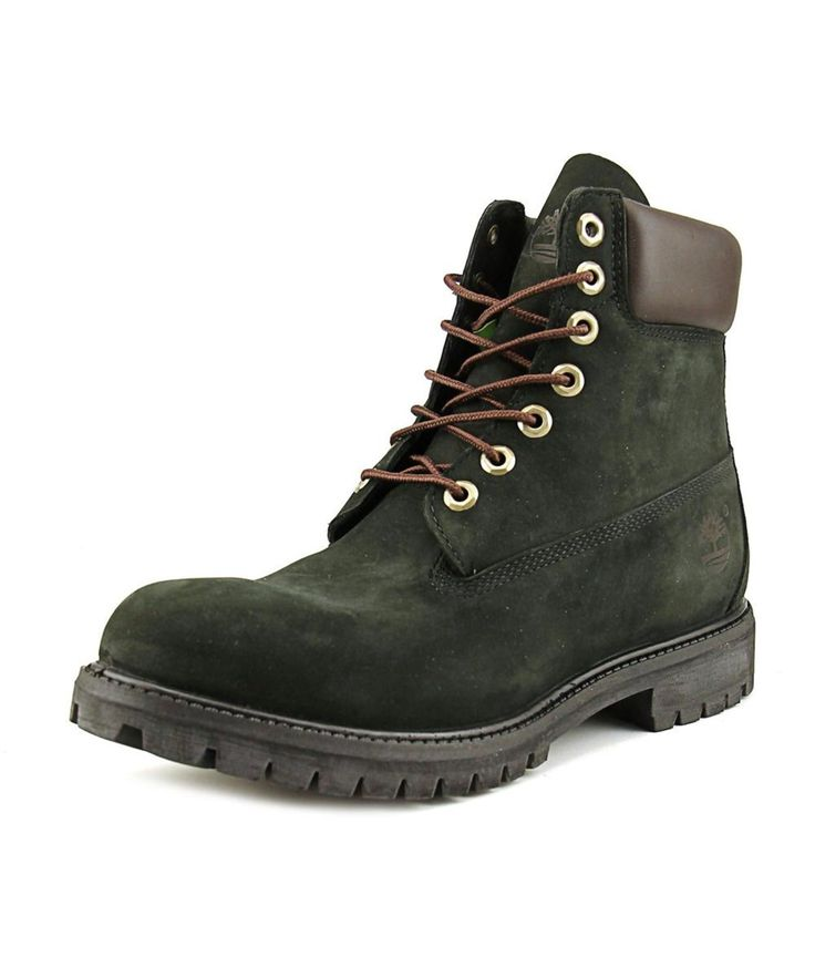 TIMBERLAND Timberland 6 In Men  Round Toe Leather Black Work Boot'. #timberland #shoes #boots