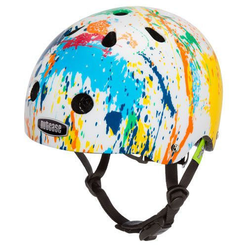 Even babies wanna bike. From their first two-wheeled glide to their first bitty tumble, from the seat of the balance bike to the box of the cargo bike, Baby Nutty is the best in helmet comfort, style