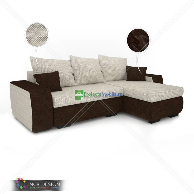 3D model of a leather couch called Bullet, decorated with diamonds and fabric texture. #livingfurniture #leathercouch #brownleather #furnitureideas #homefurniture #interiorfurniture #couchmodels #modernsofa #ncrdesign #vray #render #fabrictexture