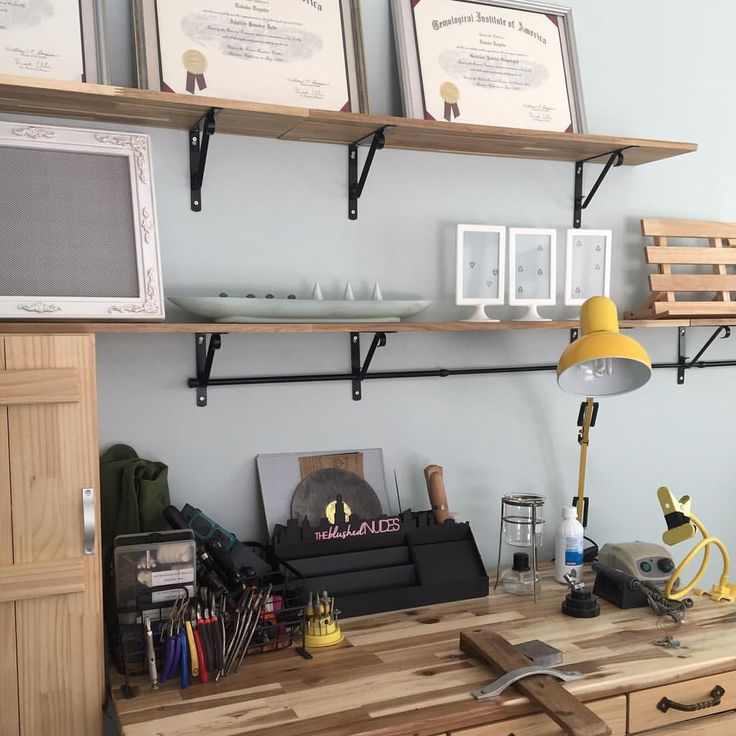#studio #workspace #jewelrybenche #tool #organize