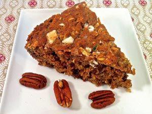 Multi-Grain White Chocolate Pecan Zucchini Skillet Bread