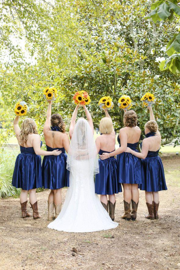 Sunflower Barn Wedding
