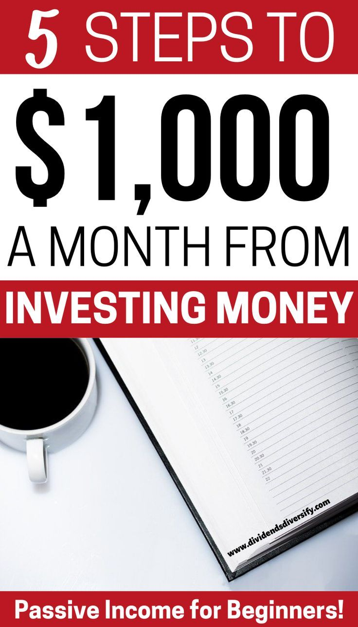 How to make 1000 a month in dividends dividends