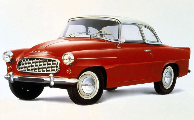 "Škoda 450 ""Felicia"" květen 1958"